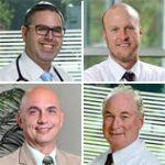 top docs 2017 - Dr. Terzian, Dr. Magdalinski, Dr. Dold, and Dr. Chasky.